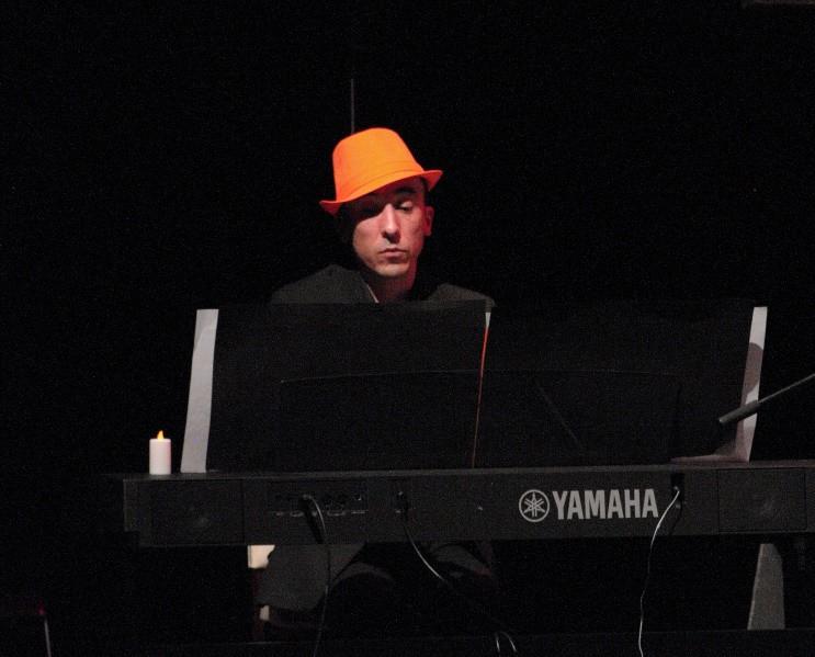 Thibaut Curie notre pianiste