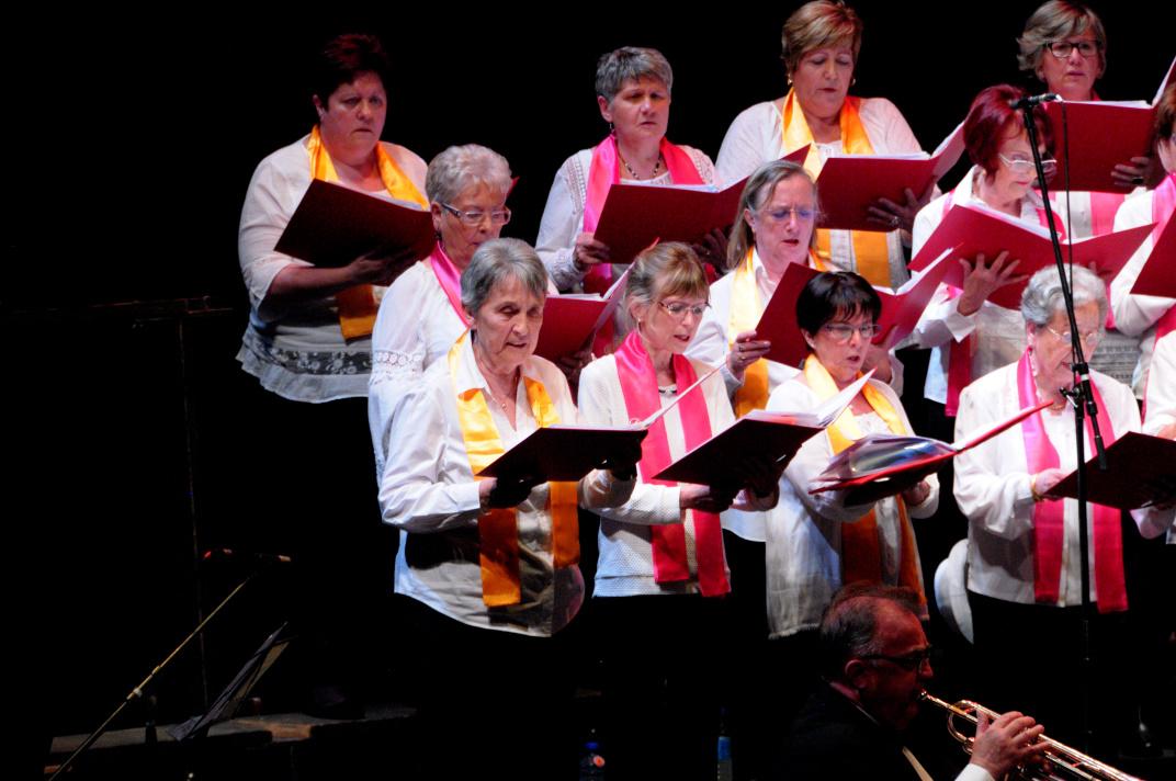 Le chœur  des Sopranos