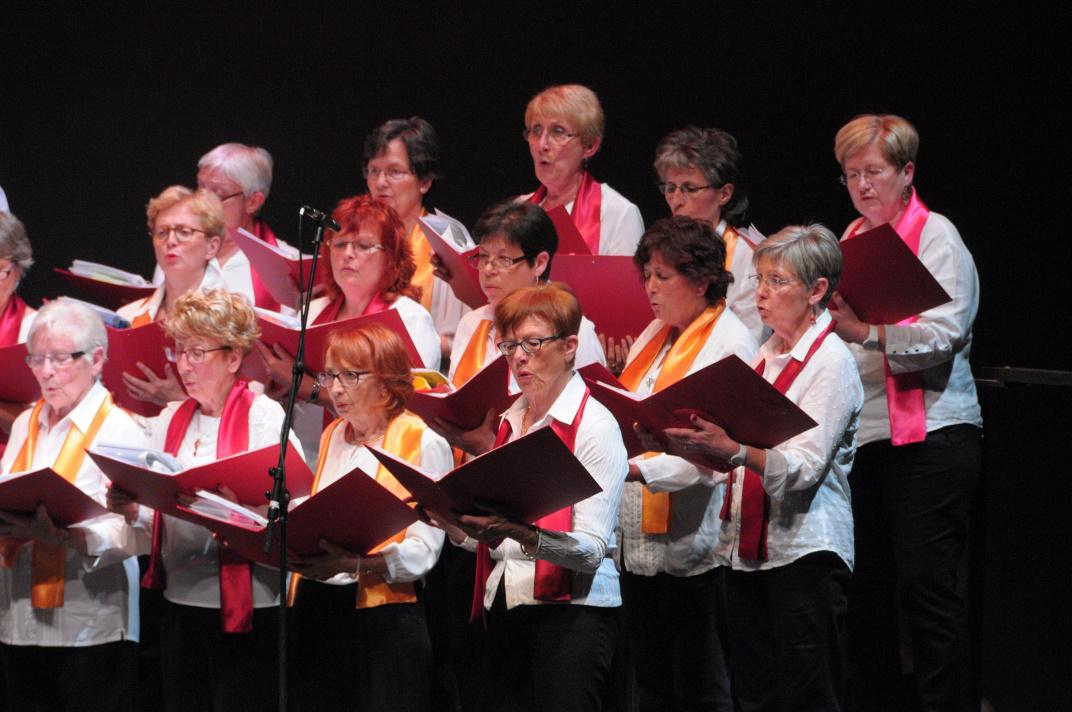 Le chœur des Alti