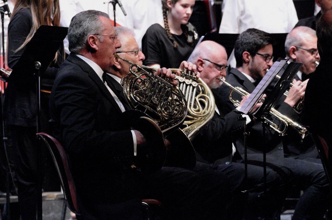 Les musiciens de l'Harmonie