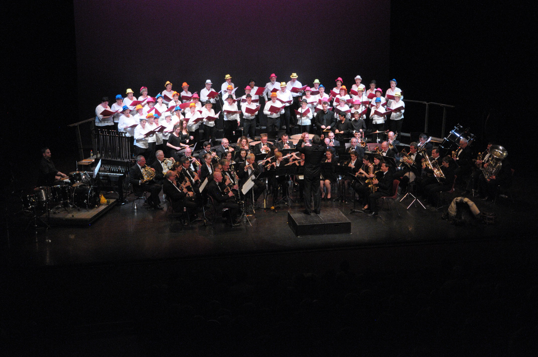 Choristes et musiciens