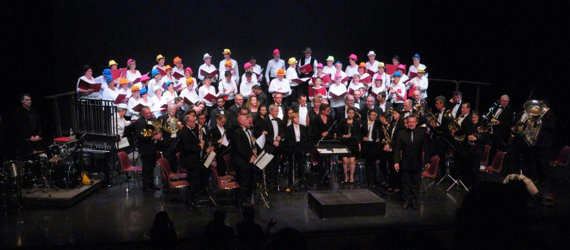 Concert avec l'Harmonie décinoise  - Mai 2017