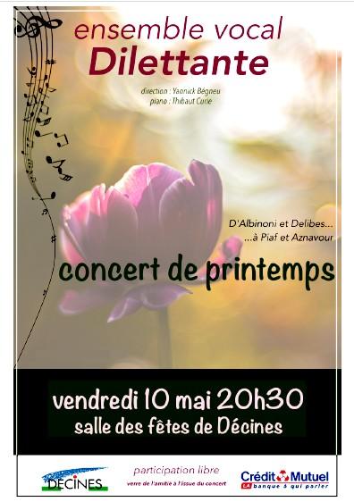 Concert 10 mai 2019